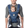 Ergobaby - Omni 360 Baby Carrier: Cool Air Mesh-Blue Blooms