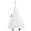 Cheeky Chompers Muslin Comforter - Silver Stars