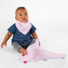 Cheeky Chompers Muslin Comforter - Rosy Days
