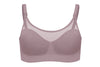 Bravado Designs Body Silk Seamless Sheer Nursing Bra - Dawn