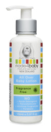 Made4baby Fragrance Free All Over Baby Lotion