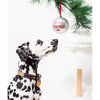 Pearhead Pet Merry Pupmas Ball Ornament - Silver