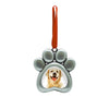 Pearhead Pet Paw Photo Ornament