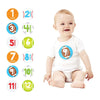 Pearhead Baby's First Year Sports Stickers
