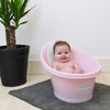 Shnuggle Bath with Plug - Rose