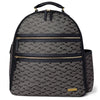 Skip Hop - Deco Saffiano Backpack- Interweaved Lines