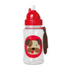 Skip Hop Zoo Winter Bulldog Straw Bottle