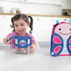 Skip Hop Zoo Blossom Butterfly Stainless Steel Lunch Kit