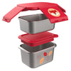 Skip Hop Zoo Ferguson Fox Stainless Steel Lunch Kit