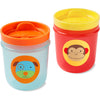 Skip Hop Zoo Tumbler Cup- Monkey/Dog
