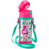 Skip Hop Zoo Franny Flamingo Stainless Steel Straw Bottle