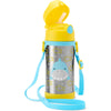 Skip Hop Zoo Simon Shark Stainless Steel Straw Bottle