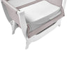 Shnuggle Air Bedside Crib - Stone Grey 1