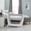 Shnuggle Air Bedside Crib - Stone Grey 3
