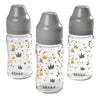 Beaba Glass Bottle - Triple Pack