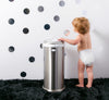 Ubbi - Chrome Metallic Nappy Pail