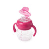Oxo tot - Grow Soft Spout Cup with Removable Handles - Pink