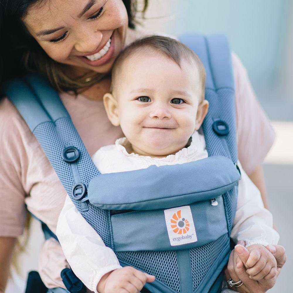 8b6be28fa32 Ergobaby - Omni 360 Baby Carrier  Cool Air Mesh-Oxford Blue from The ...