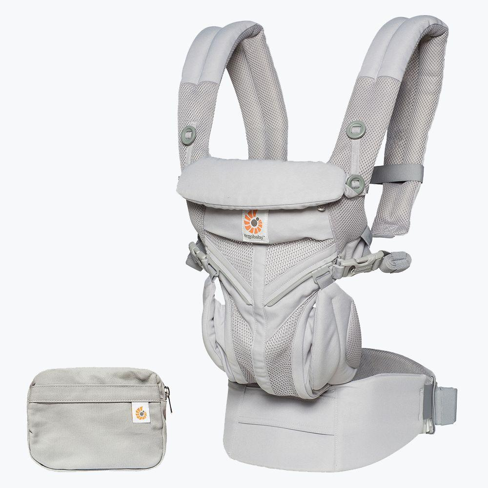 81a919ea624 Ergobaby - Omni 360 Baby Carrier  Cool Air Mesh-Pearl Grey from The Stork  Nest Australia
