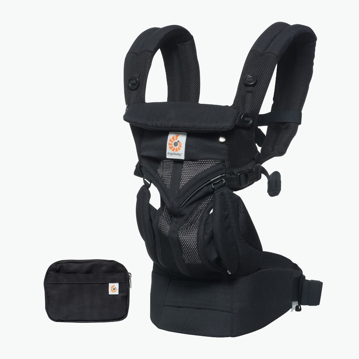 25a827b931f Ergobaby - Omni 360 Baby Carrier  Cool Air Mesh-Onyx Black from The Stork  Nest Australia