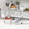 Oxo Tot On the Go Drying Rack & Bottle Brush - Grey