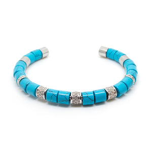 Turquoise Beaded Bangle