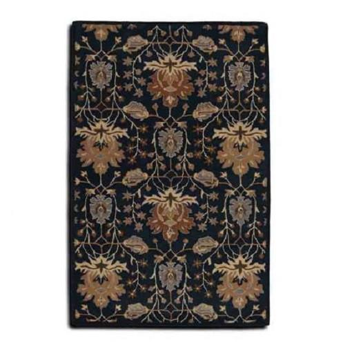 Floral Hand tufted wool Rugs (Made in India) - Bedding Nest