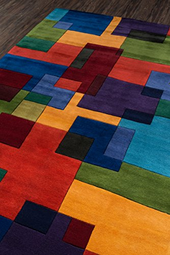 Momeni Rugs NEWWANW 49MTI3656 Collection Contemporary