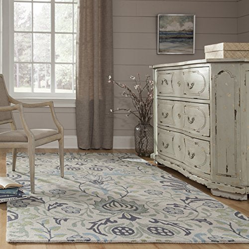 Momeni Rugs NEWPONP 12BLU80A0 Collection Contemporary