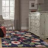 Momeni Rugs NEWPONP 14NVY90C0 Newport Collection - Bedding Nest