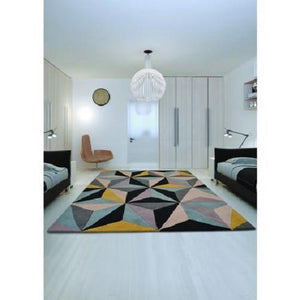 Hand tufted 3D wool Rugs (Made in India)