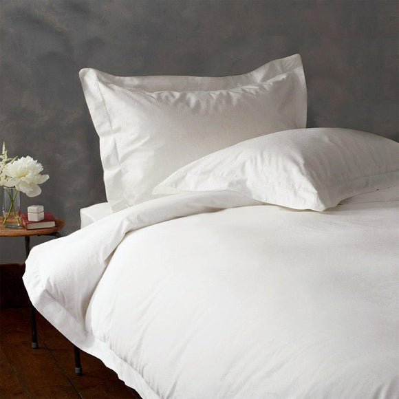 (100TC)-100% Egyptian cotton duvet cover set-White
