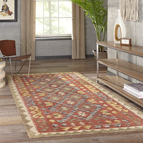 Momeni Rugs TANGITAN 7RED2030 Collection Transitional