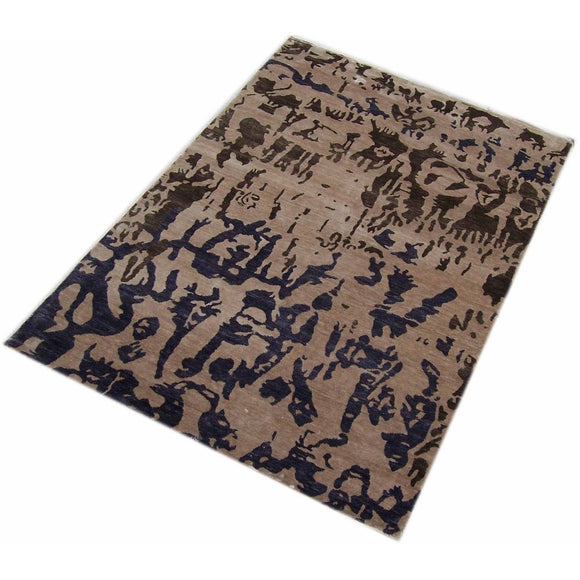Hand tufted silk Rugs(Made in India)