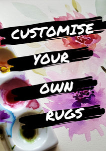 Customise your own rugs - Bedding Nest