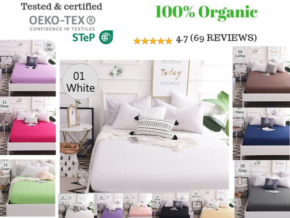 1000 Thread count- 100% Egyptian cotton fitted sheet