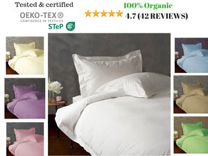 1000 TC-100% Egyptian cotton Duvet/ Quilt cover set