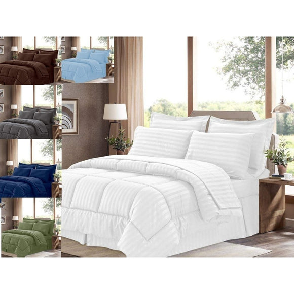 100% cotton comforter 5 Piece set-300 & 600 gsm - Bedding Nest