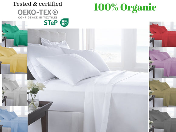 100% Egyptian cotton Bed sheet set (500TC) - Bedding Nest
