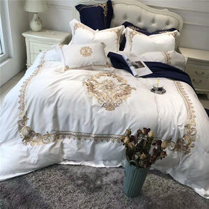 100% Egyptian cotton Bed sheet Duvet cover set