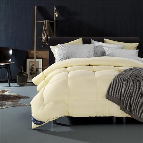 600 Thread count-100% Cotton comforter/Quilt - Bedding Nest