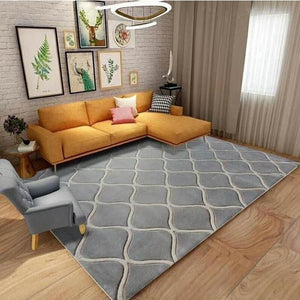 100% wool rugs grey
