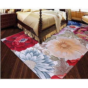100% Floral Wool Large size carpets for parlor living room