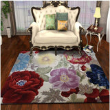 Europe 100% Wool carpet with flowers for Living Room Bedroom Hallway  Corridor large Mat Rugs Decoration Floor rugs Custom made