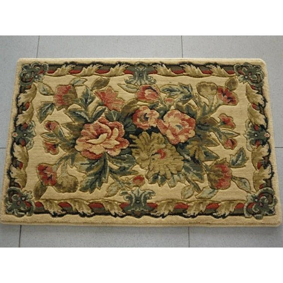 Rustic pure wool doormat , carpet ,  bath slip-resistant pad , import rug ,  entrance mats , product code 0023 - Bedding Nest