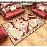 100% wool Carpets For Bedroom hallyway Non-slip Modern Area Rug Carpet Floor Door Mat Delicate Red Thicken carpets
