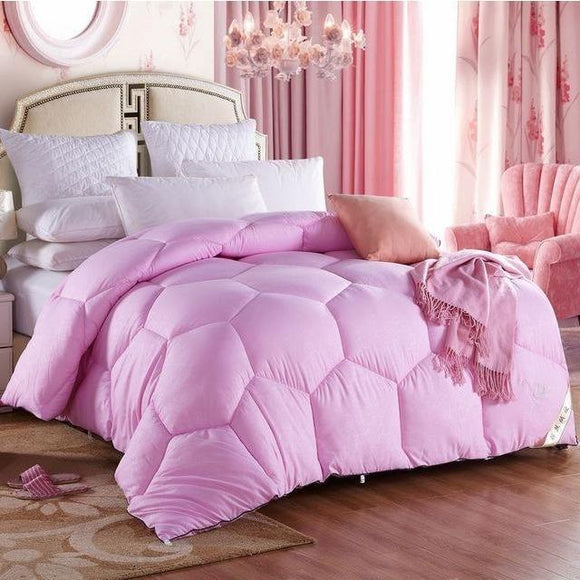 600 TC-100% cotton comforter Quilt - Bedding Nest