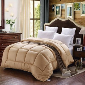 Modern Cotton solid color Comforter