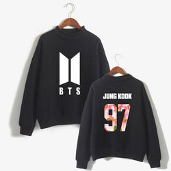 BTS 'Floweristic' Members Sweater Black The KPOP Dept. - KPOP AIR