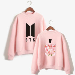 BTS 'Floweristic' Members Sweater Pink The KPOP Dept. - KPOP AIR
